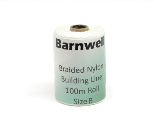 Barnwell Braided Nylon Building Line 100m Roll Size B - Thicker